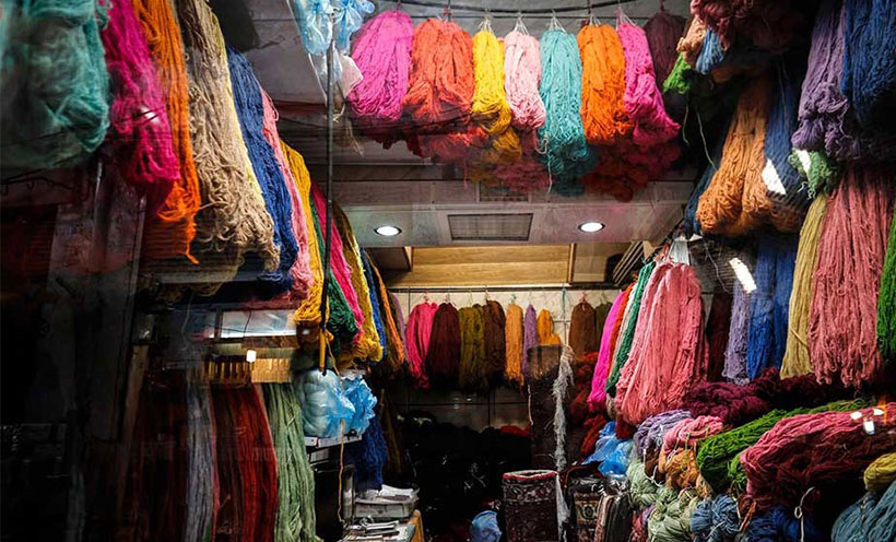 Dyeing in Iran and Iranian market  part 1