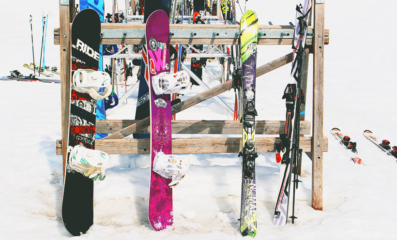 Ski equipment in Iranian market