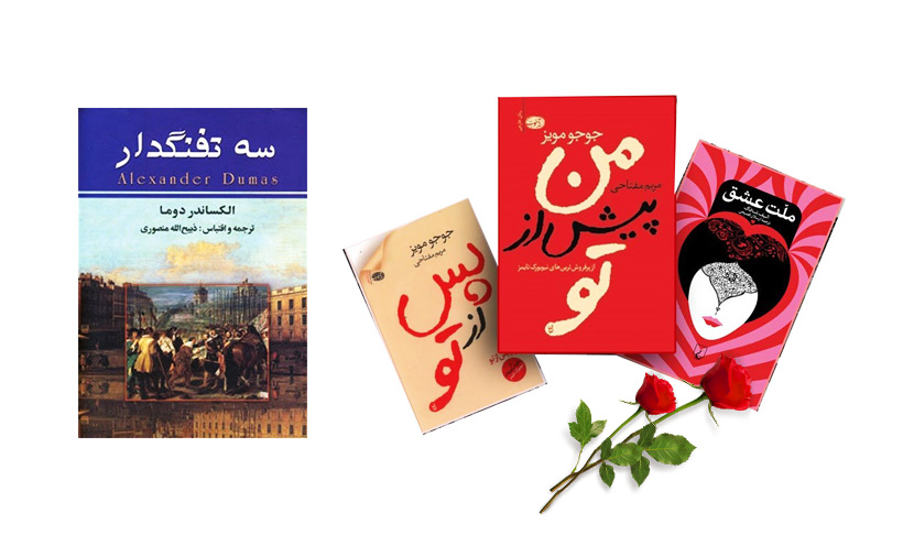 The works of foreign authors in Iranian novel market
